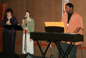 Annual Meeting - The Worship Team from Grand Avenue Baptist Church, led by Chris Johnson, Minister of Worship led in worship