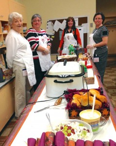 Several times a year, members of East Shore Baptist Church in Harrisburg, Pa., provide lunch for the staff at a local elementary school to show appreciation for their work. The ministry is one of several local efforts to impact the Kingdom.