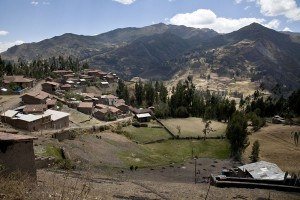 Cordova, a rural farming village of about 300 inhabitants, is situated at nearly 11,000 feet in the Peruvian Andes. Ashland Avenue Baptist Church in Lexington, Ky. sends volunteer teams there throughout the year.  IMB photo.