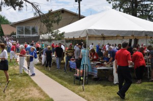 More than 250 people participate in a community picnic sponsored by Arapahoe Road Baptist Church -- one of many ways the church shares the Gospel in the increasingly unchurched metro Denver area.