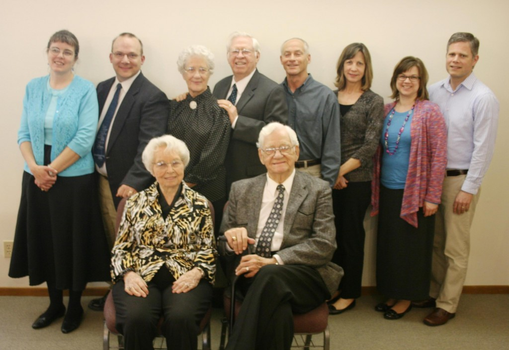 Several former pastors and spouses, associate pastors and interim pastors told of their experiences in serving Christ at Calvary. These included: current pastor and wife John and Amy Jakes, Richard and Betty Lamborn, Claude and Irene McFerron, Mike and Shari Carlson, and Troy and Sherry Fiscella.