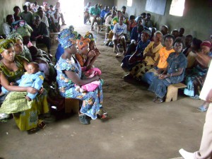 Christmas 2011 at the church in Dzaleka