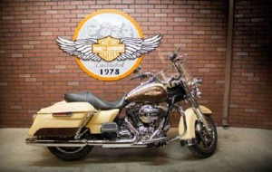 Listening to a three-minute testimony qualified Sturgis bikers for a chance to win new Harley-Davidson® motorcycle.