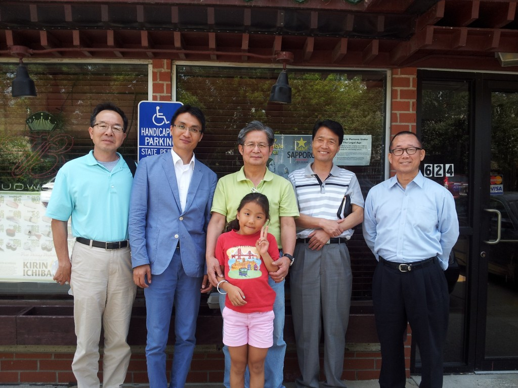Juhyuk Yi, pastor of Des Moines Korean Baptist Church, Byung Hoon Lee, pastor of Sarang Church in Ames, Jong Koo Lee, pastor of All Nations Baptist Church in Iowa City, Young Chul Juoung, pastor of Korean Baptist Church in Sioux City, Barnabas Soh, pastor of Living Water Church in Cedar Falls.