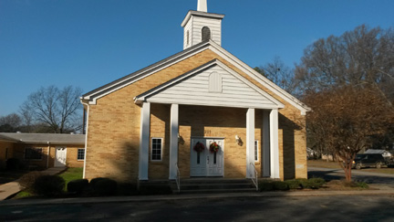 Almyra First Baptist Church, organized in 1896, has given 30 percent to missions through the Cooperative Program for 60 years.