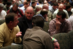 The men's ministry at Bell Shoals Baptist Church in Brandon, Fla., offers men's accountability groups and regular leadership classes for men. Photo courtesy of Bell Shoals Baptist Church