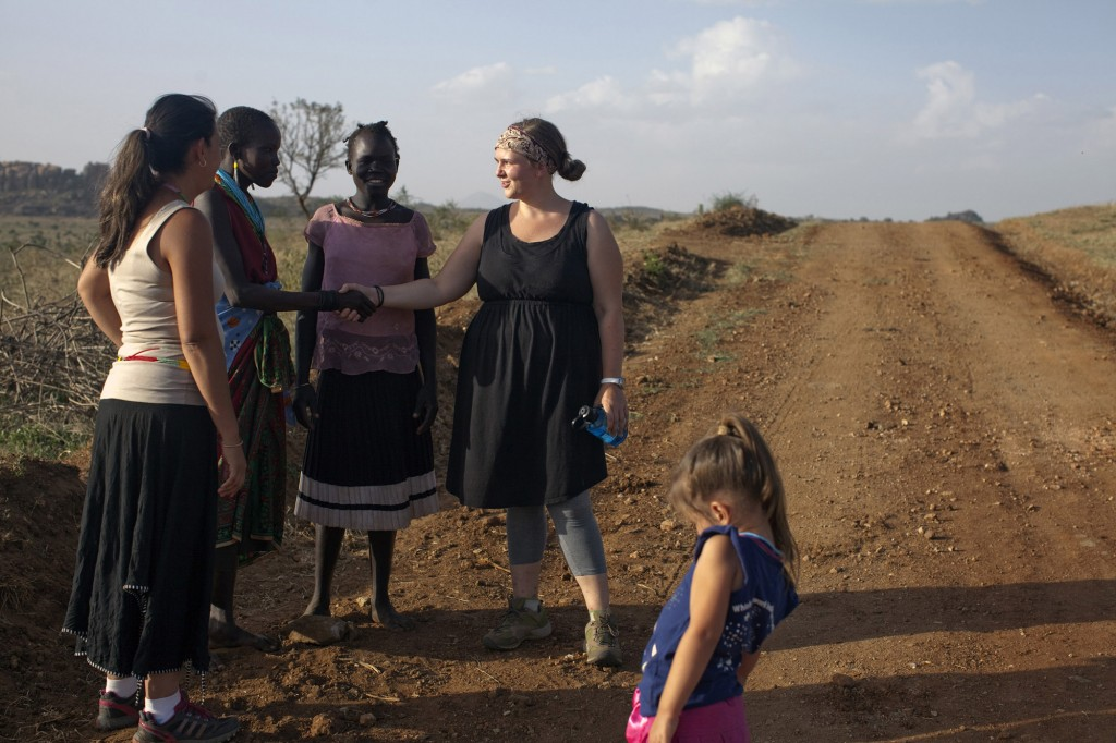 What enabled missionary Maridith Lane (right) to move to the embattled new nation of South Sudan in 2013? A calling from God -- and the prayers and support of Southern Baptists through the Lottie Moon Christmas Offering. She serves there, despite the dangers, with her husband Robert and their two young children. IMB PHOTO by Joanne Bradberry