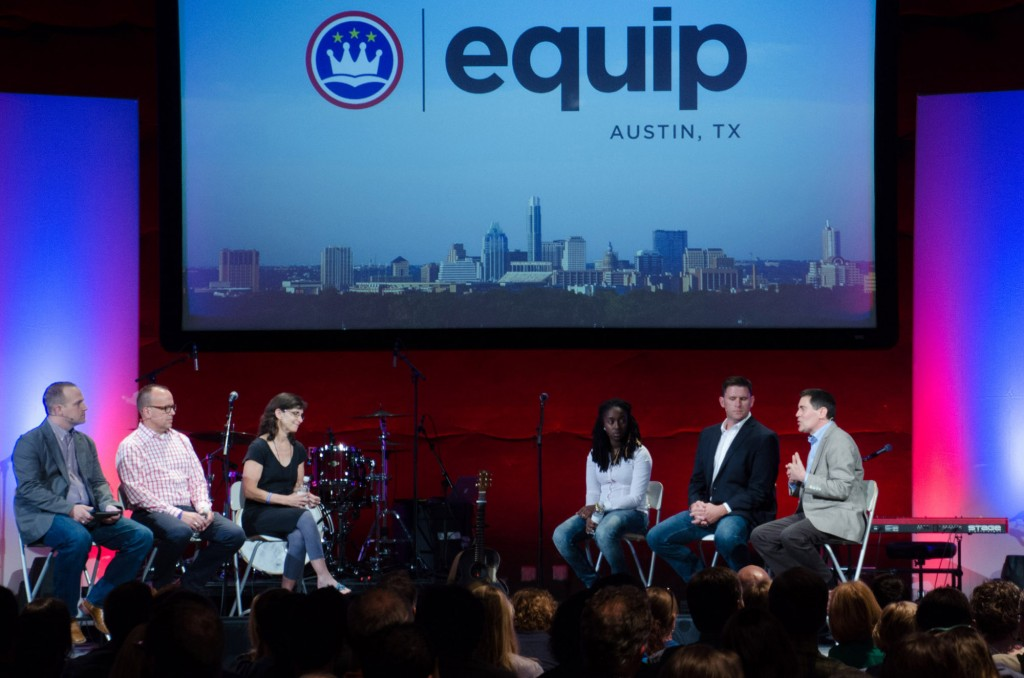 Panelists discuss the Gospel and homosexuality at the ERLC's Equip Austin event, July 29. Photo by Gary Ledbetter