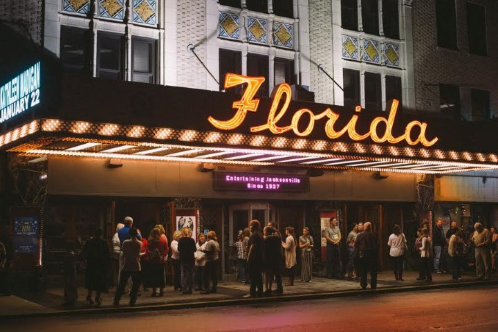 "The Florida Theatre in downtown Jacksonville was the site of District Church's inaugural ""Christmas Eve Eve"" service last year led by church planter Boyd Bettis. The Florida Theatre first opened its doors in 1927 and is listed on the National Register of Historic Places."