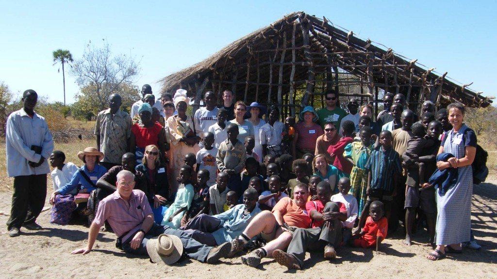 LifeSpring planted a church in Zambia and returns every two years to train leaders. Photo courtesy of LifeSpring Church.