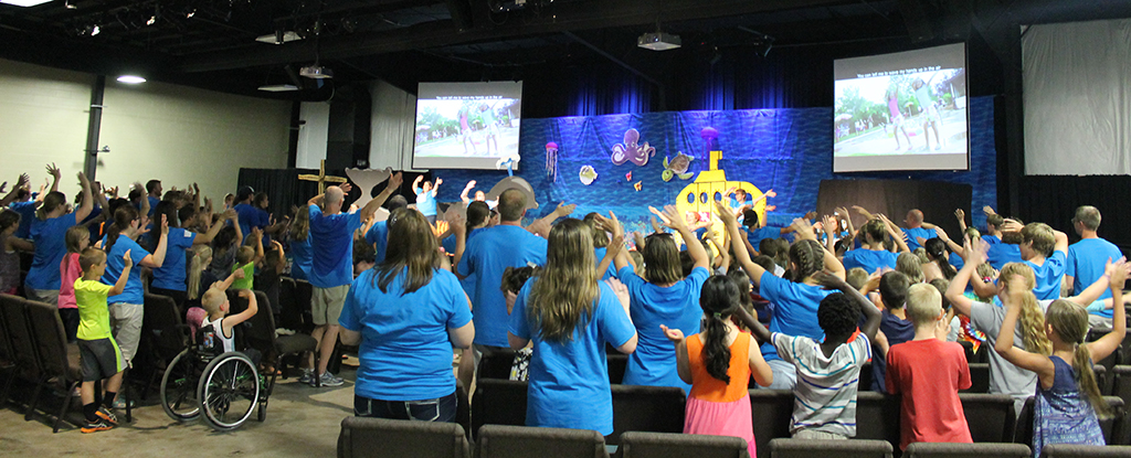 First Family Church Ankeny celebrates a wet and wild VBS