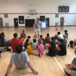 Twelve kids choose to trust in Christ at Friendship Center Basketball Camp